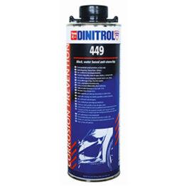 DINITROL 449 состав на водной основе с хорошими антикоррозионными, антигравийными и шумоизоляционными свойствами